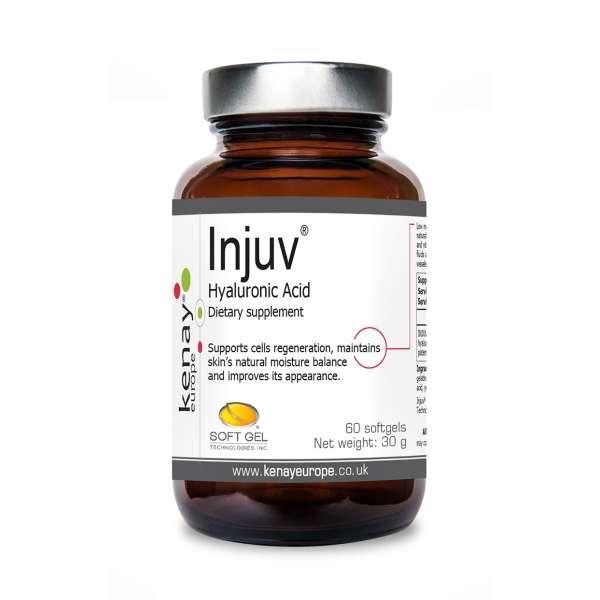 Injuv® hyaluronic acid, 60 capsules - dietary supplement