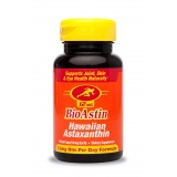 Bioastin® Hawaiian Astaxanthin, 12 mg, 50 capsules - dietary supplement