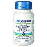Enhanced Super Digestive Enzymes with Probiotics 60 caps., LifeExtension