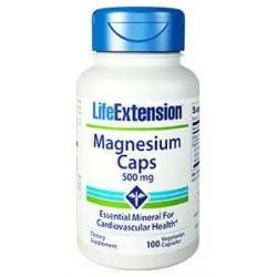 Magnesium 500mg 100 caps., LifeExtension – dietary supplement