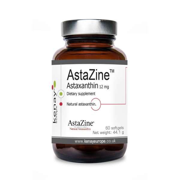 AstaZine™ Astaxanthin 12 mg, 60 softgels – dietary supplement