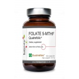 FOLATE 5-MTHF  Quatrefolic®, 60 capsules - dietary  supplement