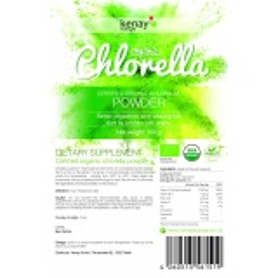 Organic Chlorella powder, 100 g  - dietary  supplement