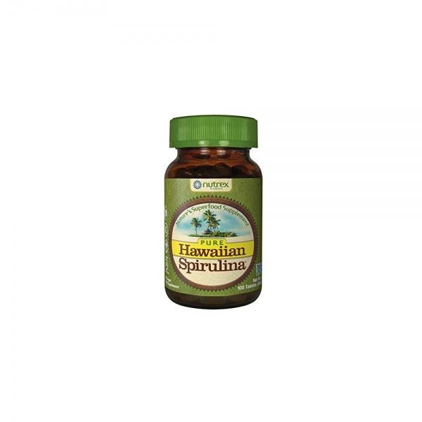 Hawaiian Spirulina® Pacifica 500 mg, 100 tablets – dietary supplement