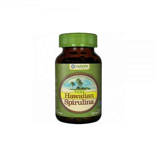 Hawaiian Spirulina® Pacifica 500 mg, 200 tablets – dietary supplement