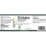 Shiitake mushrooms, 60 capsules – dietary supplement