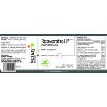 Resveratrol PT pterostilbene, 60 capsules – dietary supplement