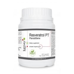 Resveratrol PT pterostilbene, 300 capsules – dietary supplement