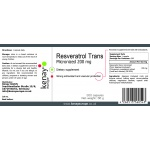 Resveratrol Trans Micronized 200 mg, 300 capsules - dietary supplement