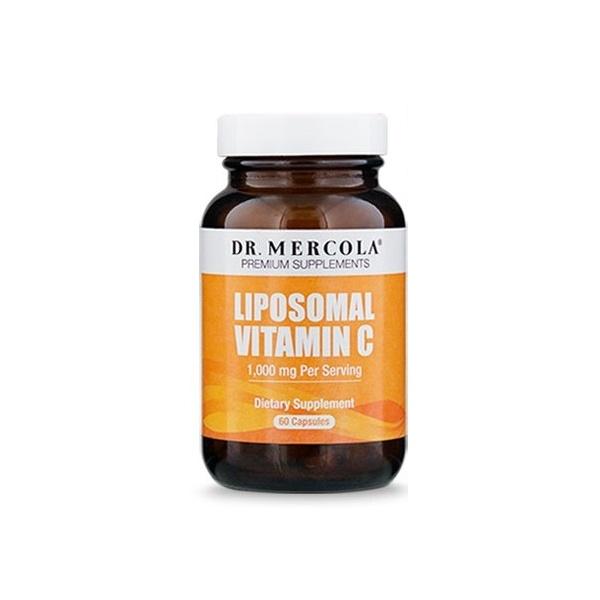 Vitamin C liposomal, 60 capsules (producer: Dr. Mercola)- dietary supplement