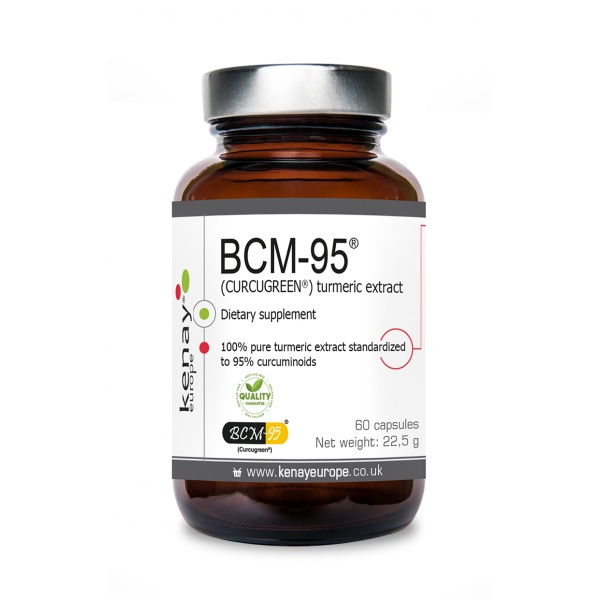 BCM-95® (CURCUGREEN®) turmeric extract, 60 capsules – dietary supplement