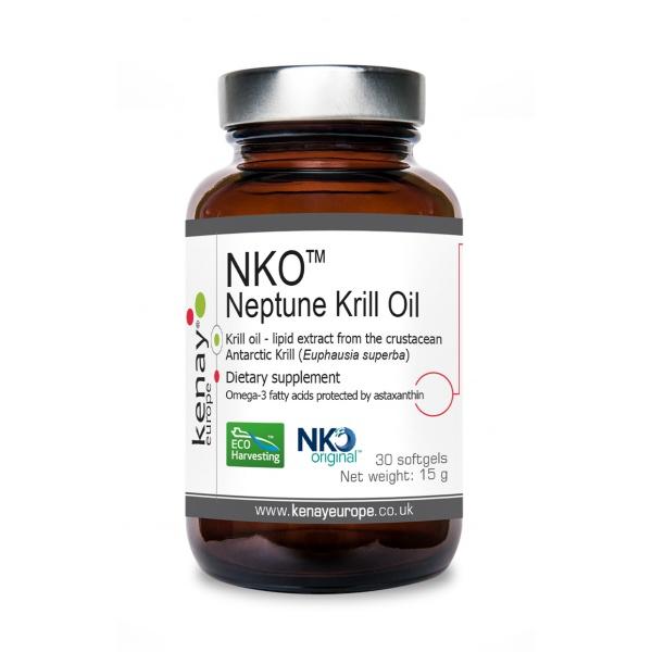 Neptune Krill Oil NKO, 30 capsules - dietary supplement