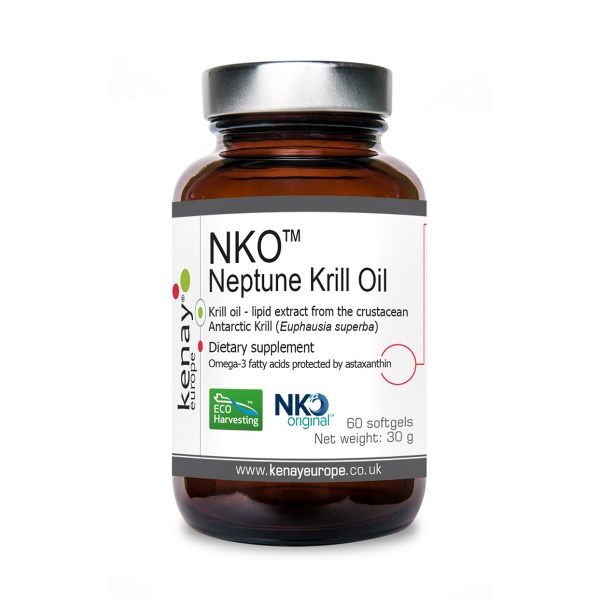 Neptune Krill Oil NKO, 60 softgels- dietary supplement