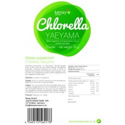 Chlorella Yaeyama powder, 50g – dietary supplement