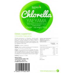 Chlorella Yaeyama powder, 100g – dietary supplement