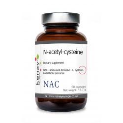 NAC  N-acetyl-cysteine, 60 capsules - dietary  supplement